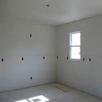 New home construction- Boarding, ready for taping