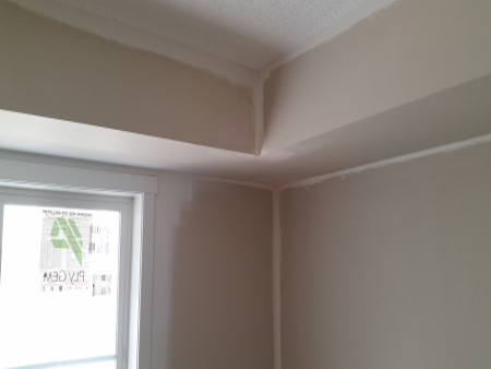Bulkhead Touch-ups Bedroom
