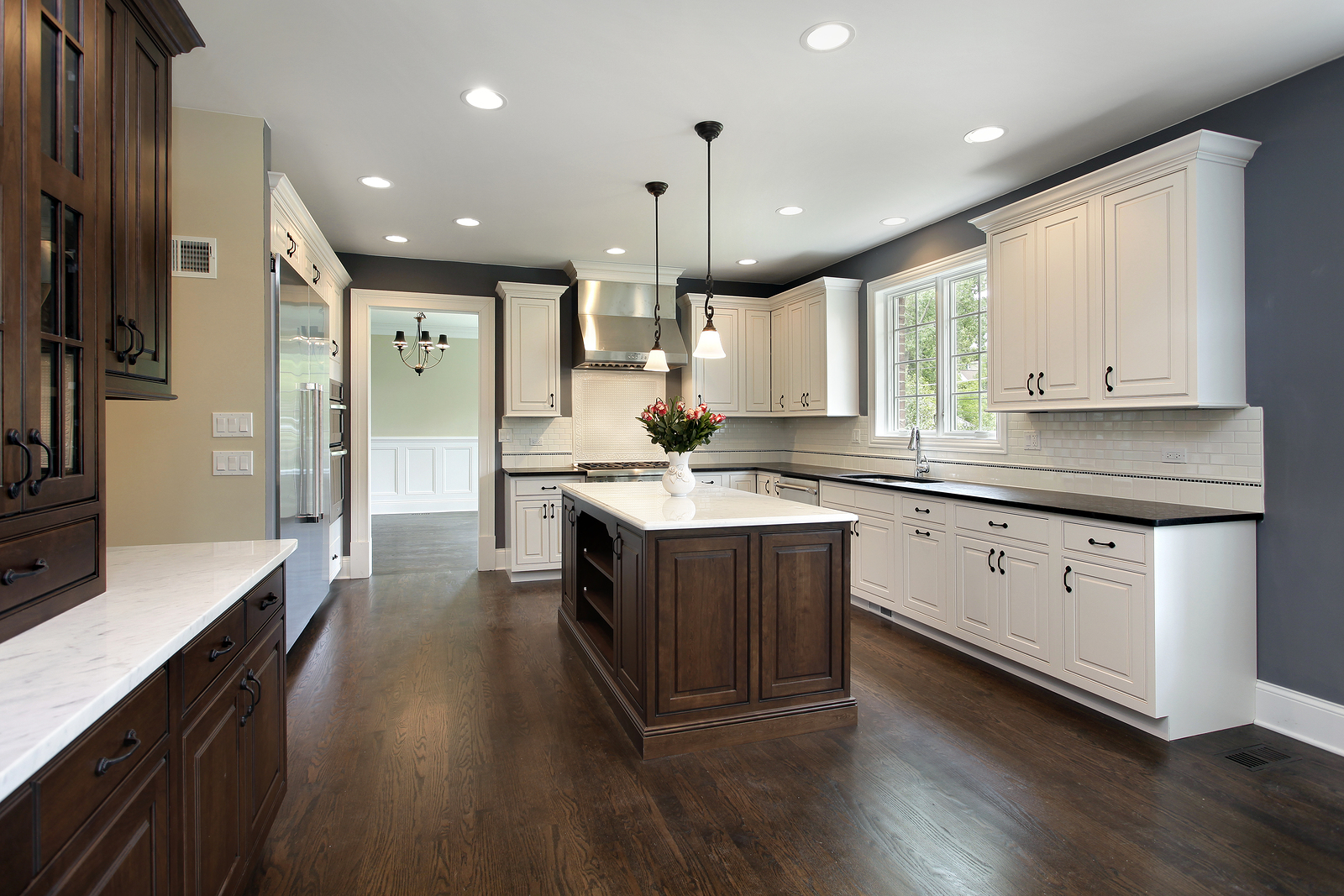 smooth ceilings in kitchen