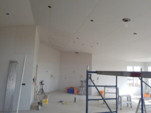 Beautiful Boarding job in New House Construction
