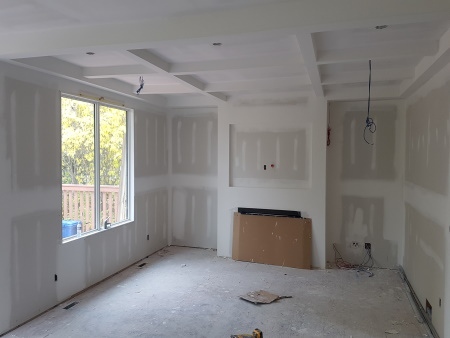 New House Construction at Filling Stage